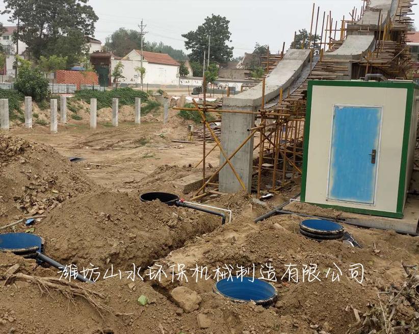 河南长垣县张庄50方农村生活一体化污水处理项目
