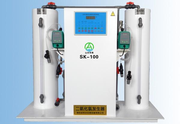 云南一体式二氧化氯发生器